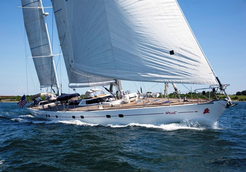 Sailing yacht APACHE -  Main